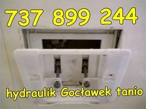 hydraulik Gocławek tanio